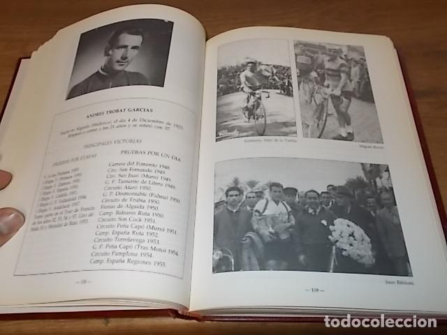 Coleccionismo deportivo: MALLORCA, LOS MALLORQUINES Y LA VUELTA CICLISTA A ESPAÑA. BERNARDO COMAS. MATEO FLAQUER. 1991. - Foto 9 - 149561550