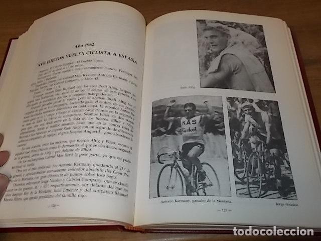 Coleccionismo deportivo: MALLORCA, LOS MALLORQUINES Y LA VUELTA CICLISTA A ESPAÑA. BERNARDO COMAS. MATEO FLAQUER. 1991. - Foto 10 - 149561550