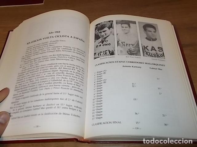 Coleccionismo deportivo: MALLORCA, LOS MALLORQUINES Y LA VUELTA CICLISTA A ESPAÑA. BERNARDO COMAS. MATEO FLAQUER. 1991. - Foto 11 - 149561550