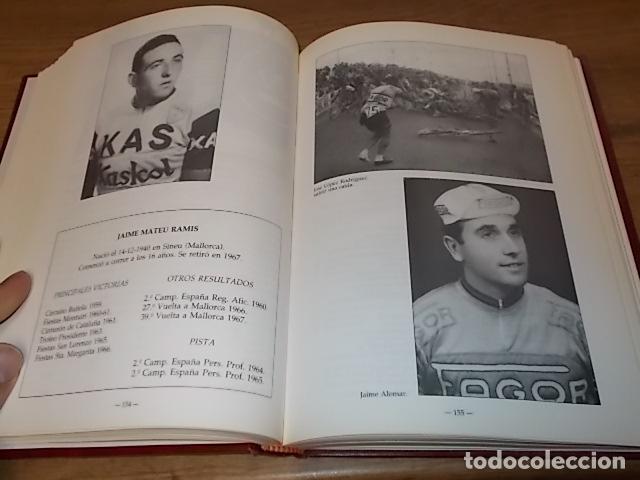 Coleccionismo deportivo: MALLORCA, LOS MALLORQUINES Y LA VUELTA CICLISTA A ESPAÑA. BERNARDO COMAS. MATEO FLAQUER. 1991. - Foto 12 - 149561550