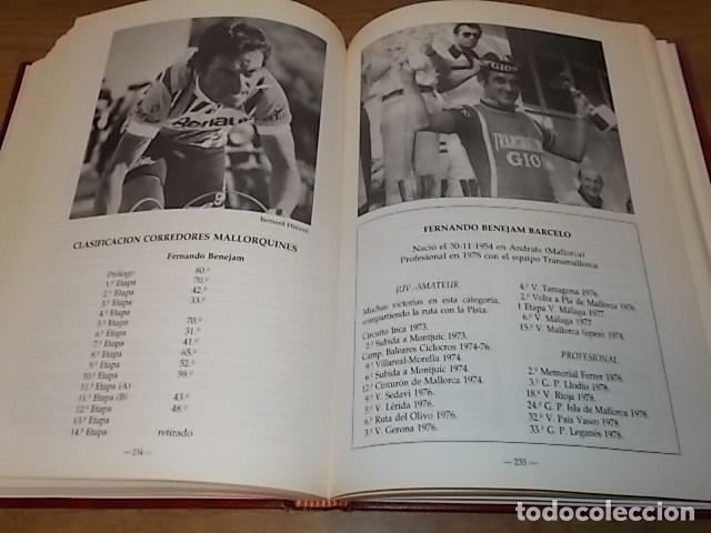 Coleccionismo deportivo: MALLORCA, LOS MALLORQUINES Y LA VUELTA CICLISTA A ESPAÑA. BERNARDO COMAS. MATEO FLAQUER. 1991. - Foto 14 - 149561550