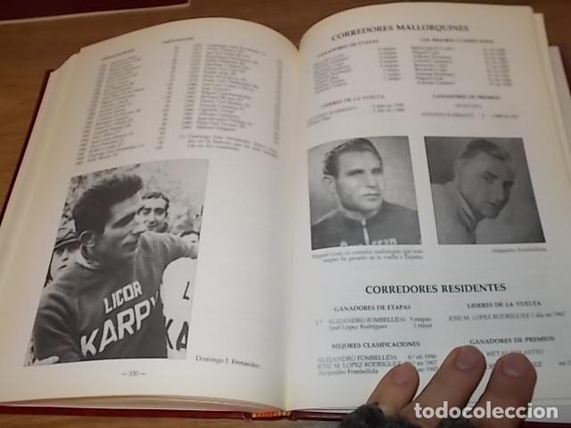 Coleccionismo deportivo: MALLORCA, LOS MALLORQUINES Y LA VUELTA CICLISTA A ESPAÑA. BERNARDO COMAS. MATEO FLAQUER. 1991. - Foto 20 - 149561550