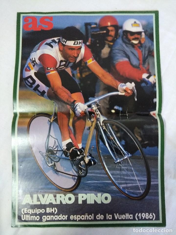 REVISTA AS COLOR CICLISMO/ESPECIAL VUELTA 88/POSTER ALVARO PINO EQUIPO BH. (Coleccionismo Deportivo - Libros de Ciclismo)