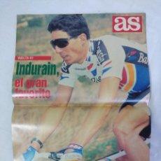 Coleccionismo deportivo: REVISTA AS COLOR CICLISMO/EXTRA VUELTA 91/MIGUEL INDURAIN EQUIPO BANESTO.. Lote 151634570