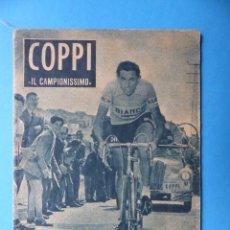 Coleccionismo deportivo - FAUSTO COPPI - COLECCION IDOLOS DEL DEPORTE - Nº 61 - AÑO 1959 - 159395686