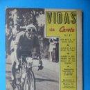 Coleccionismo deportivo: VIDAS SIN CARETA, Nº 17, PORTADA BERNARDO RUIZ - AÑOS 1940. Lote 160084690