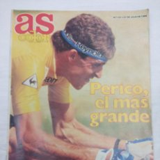 Coleccionismo deportivo: REVISTA CICLISMO AS COLOR Nº131/PERICO DELGADO/POSTER NBA.. Lote 160208922