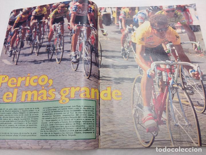Coleccionismo deportivo: REVISTA CICLISMO AS COLOR Nº131/PERICO DELGADO/POSTER NBA. - Foto 3 - 160208922