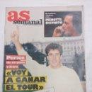 Coleccionismo deportivo: REVISTA CICLISMO AS COLOR Nº90/PERICO DELGADO/POSTER NBA.. Lote 160209118