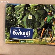 Coleccionismo deportivo: RUTAS 3D EUSKADI EN BTT. 34 FICHAS DE RUTAS.. Lote 161139041