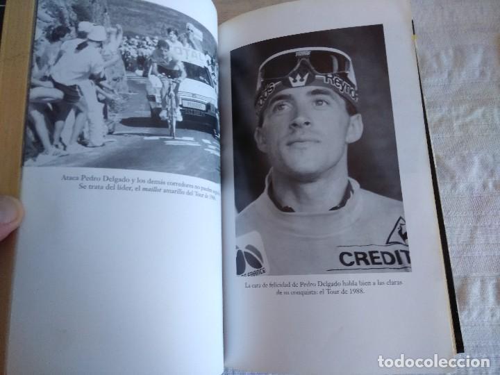 Coleccionismo deportivo: LIBRO DE CICLISMO/PEDRO DELGADO/A GOLPE DE PEDAL. - Foto 2 - 162494810