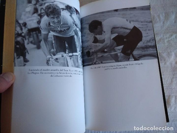 Coleccionismo deportivo: LIBRO DE CICLISMO/PEDRO DELGADO/A GOLPE DE PEDAL. - Foto 3 - 162494810