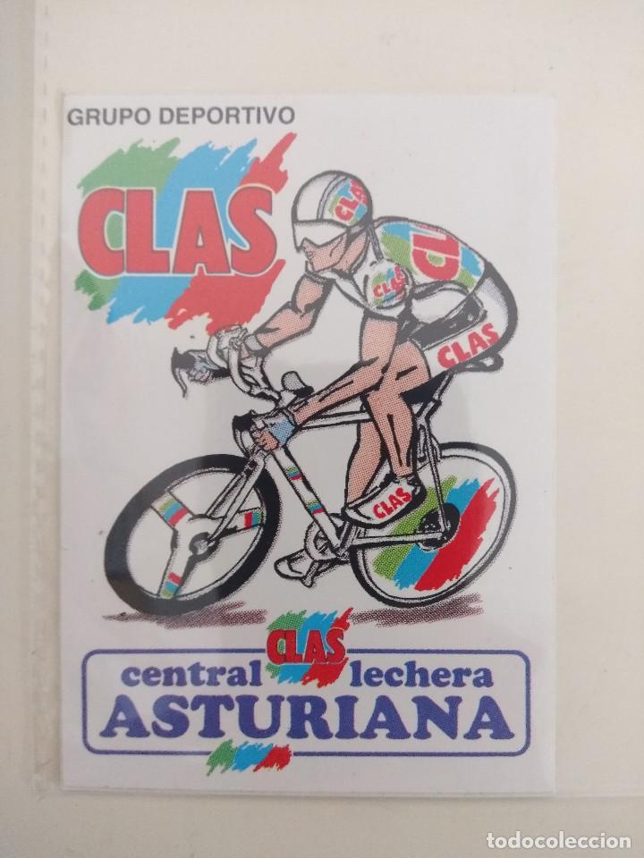 PEGATINA GRUPO DEPORTIVO CICLISTA CLAS/CENTRAL LECHERA ASTURIANA/NUEVA¡¡ (Coleccionismo Deportivo - Libros de Ciclismo)