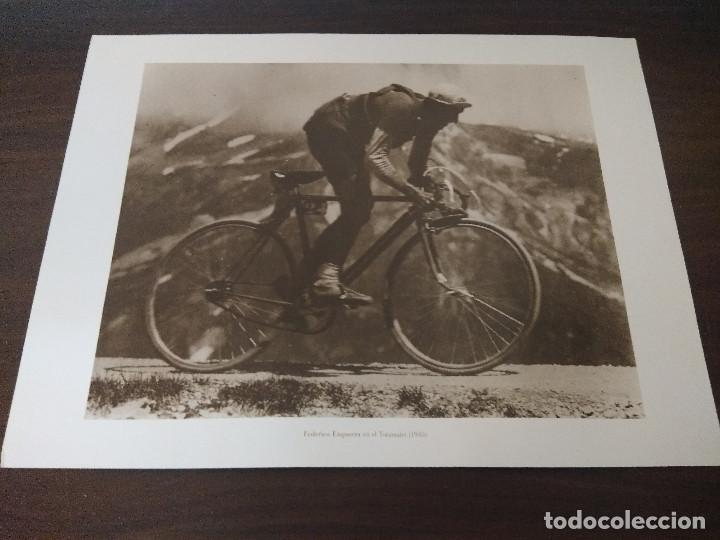 LAMINA CICLISMO/FEDERICO EZQUERRA/TOURMALET 1935. (Coleccionismo Deportivo - Libros de Ciclismo)