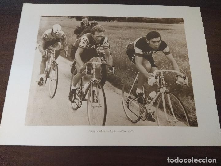LAMINA CICLISMO/FRANCISCO GABICA/MERCKX/TOUR 1971. (Coleccionismo Deportivo - Libros de Ciclismo)
