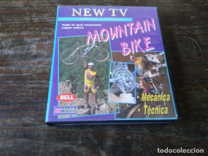 NEW TV MOUNTAIN BIKE. MECÁNICA Y TÉCNICA. 2 VHS. SHIMANO. SPECIALIZED. AQUARIUS (Coleccionismo Deportivo - Libros de Ciclismo)