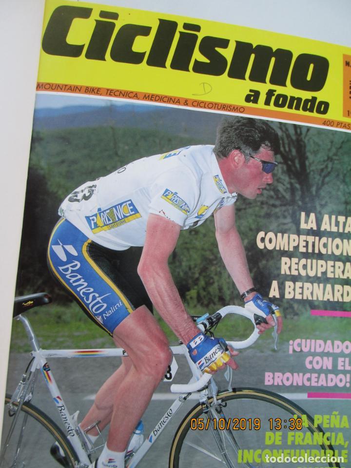 Coleccionismo deportivo: CICLISMO A FONDO , REVISTAS DESDE ABRIL 1990 Nº 54 A MARZO 1994 Nº 110 - 57 REVISTAS - Foto 3 - 163997494