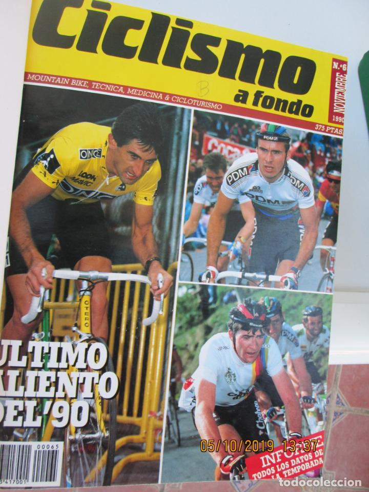 Coleccionismo deportivo: CICLISMO A FONDO , REVISTAS DESDE ABRIL 1990 Nº 54 A MARZO 1994 Nº 110 - 57 REVISTAS - Foto 5 - 163997494