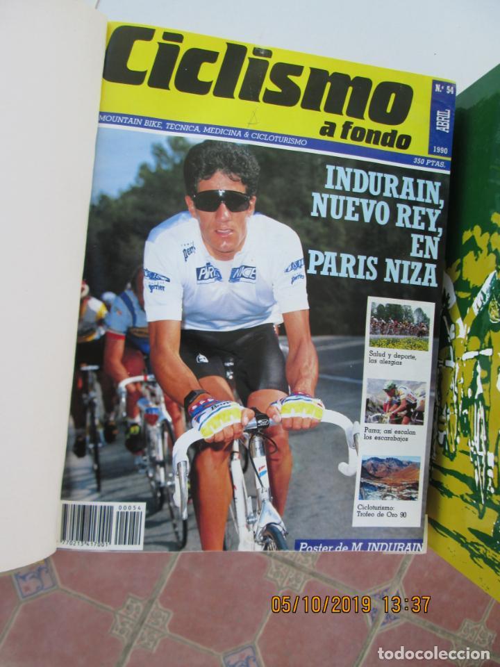 Coleccionismo deportivo: CICLISMO A FONDO , REVISTAS DESDE ABRIL 1990 Nº 54 A MARZO 1994 Nº 110 - 57 REVISTAS - Foto 6 - 163997494