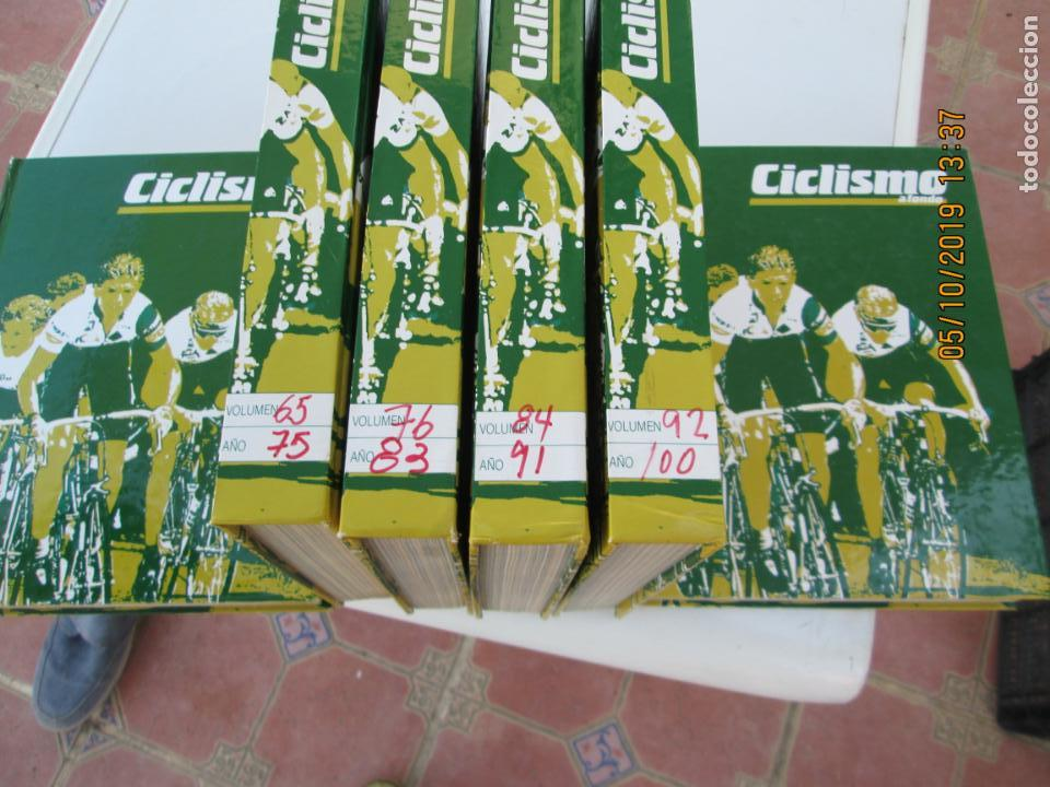 Coleccionismo deportivo: CICLISMO A FONDO , REVISTAS DESDE ABRIL 1990 Nº 54 A MARZO 1994 Nº 110 - 57 REVISTAS - Foto 7 - 163997494
