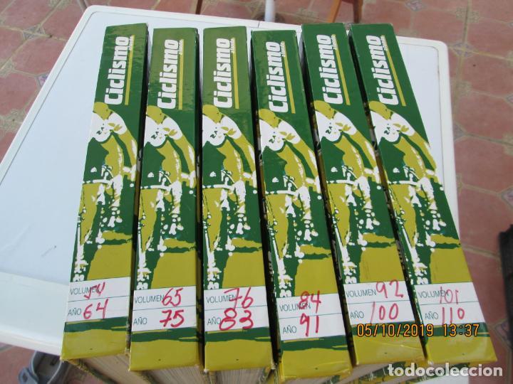 CICLISMO A FONDO , REVISTAS DESDE ABRIL 1990 Nº 54 A MARZO 1994 Nº 110 - 57 REVISTAS (Coleccionismo Deportivo - Libros de Ciclismo)