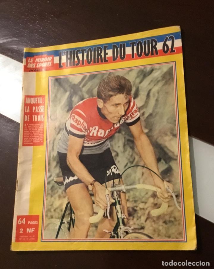 ANTIGUA REVISTA TOUR DE FRANCIA 1962 (Coleccionismo Deportivo - Libros de Ciclismo)