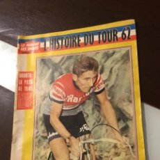 Coleccionismo deportivo: ANTIGUA REVISTA TOUR DE FRANCIA 1962 . Lote 165700562