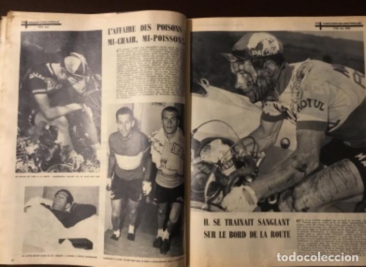 Coleccionismo deportivo: Antigua revista tour de Francia 1962 - Foto 4 - 165700562