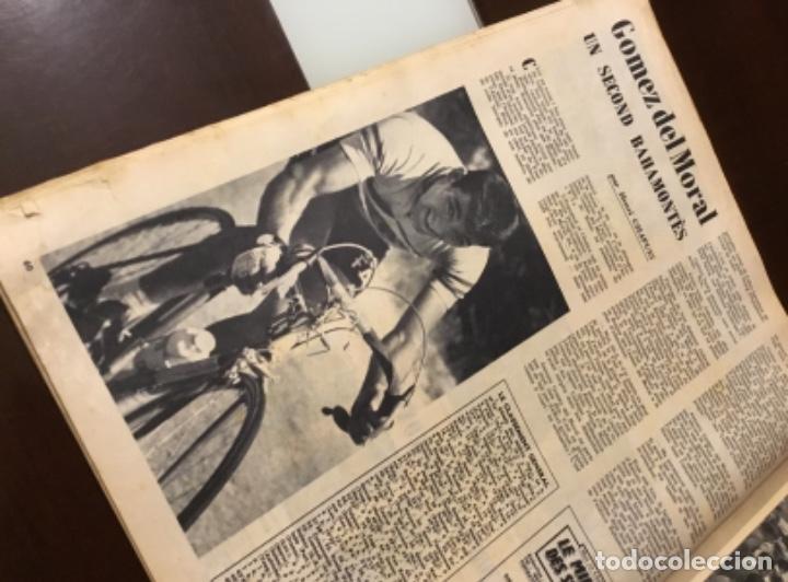Coleccionismo deportivo: Antigua revista tour de Francia 1962 - Foto 5 - 165700562