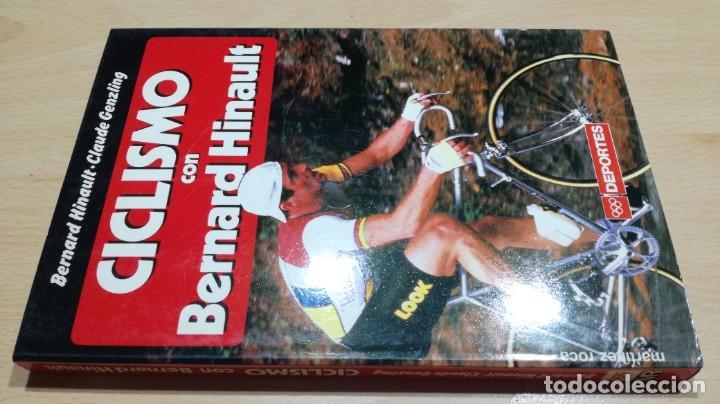 CICLISMO CON BERNARD HINAULT/ CLAUDE GENZLING/ MARTINEZ ROCA/ / F402 (Coleccionismo Deportivo - Libros de Ciclismo)