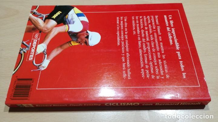 Coleccionismo deportivo: CICLISMO CON BERNARD HINAULT/ CLAUDE GENZLING/ MARTINEZ ROCA/ / F402 - Foto 2 - 166226678