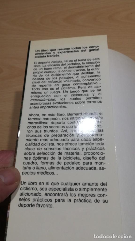 Coleccionismo deportivo: CICLISMO CON BERNARD HINAULT/ CLAUDE GENZLING/ MARTINEZ ROCA/ / F402 - Foto 4 - 166226678