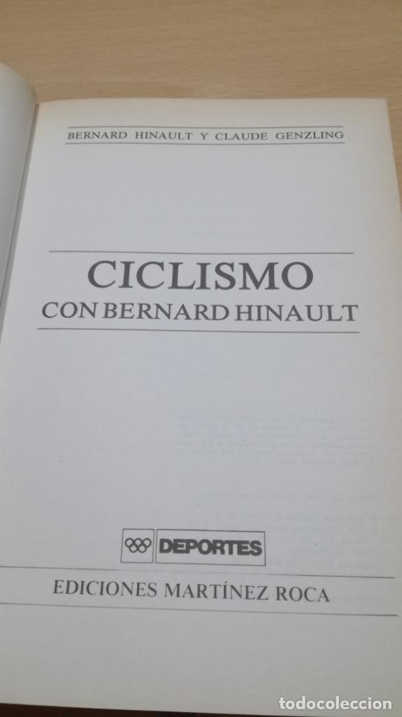 Coleccionismo deportivo: CICLISMO CON BERNARD HINAULT/ CLAUDE GENZLING/ MARTINEZ ROCA/ / F402 - Foto 5 - 166226678