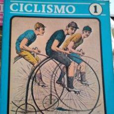 Coleccionismo deportivo: CICLISMO I. LOS ORÍGENES DEL CICLISMO. JUAN CARLOS PÉREZ. LIBRERÍA DEPORTIVA LEGANÉS. RÚSTICA. AÑO 1. Lote 168096194