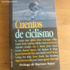 Coleccionismo deportivo: CUENTOS DE CICLISMO PUBLICADO POR EDAF. (2000) 287PP. Lote 174483168
