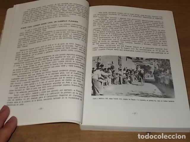 Coleccionismo deportivo: HISTORIA DEL CICLISMO EN MALLORCA.JESÚS GARCÍA MARÍN / GONZALO PAMPÍN.ED. MIRAMAR.1ª EDICIÓN 1991. - Foto 3 - 212807685