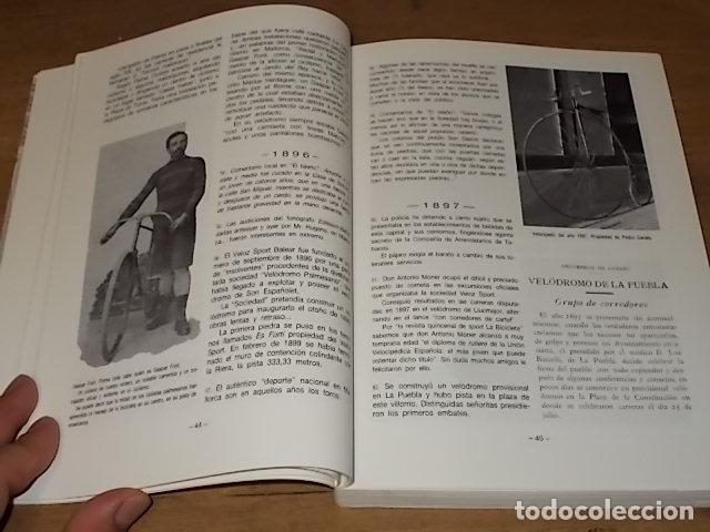 Coleccionismo deportivo: HISTORIA DEL CICLISMO EN MALLORCA.JESÚS GARCÍA MARÍN / GONZALO PAMPÍN.ED. MIRAMAR.1ª EDICIÓN 1991. - Foto 5 - 212807685