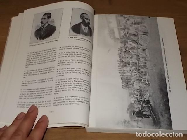 Coleccionismo deportivo: HISTORIA DEL CICLISMO EN MALLORCA.JESÚS GARCÍA MARÍN / GONZALO PAMPÍN.ED. MIRAMAR.1ª EDICIÓN 1991. - Foto 7 - 212807685