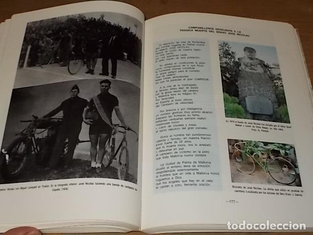 Coleccionismo deportivo: HISTORIA DEL CICLISMO EN MALLORCA.JESÚS GARCÍA MARÍN / GONZALO PAMPÍN.ED. MIRAMAR.1ª EDICIÓN 1991. - Foto 20 - 212807685