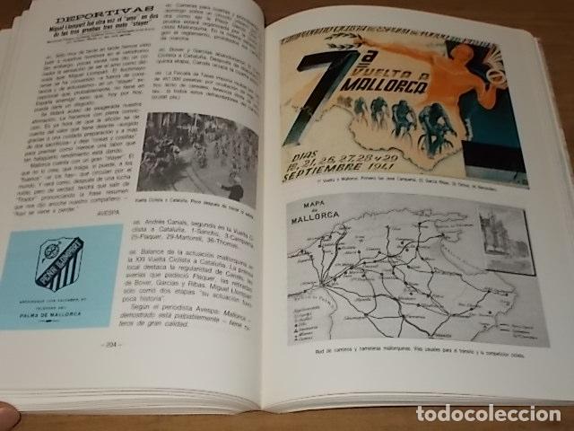 Coleccionismo deportivo: HISTORIA DEL CICLISMO EN MALLORCA.JESÚS GARCÍA MARÍN / GONZALO PAMPÍN.ED. MIRAMAR.1ª EDICIÓN 1991. - Foto 23 - 212807685