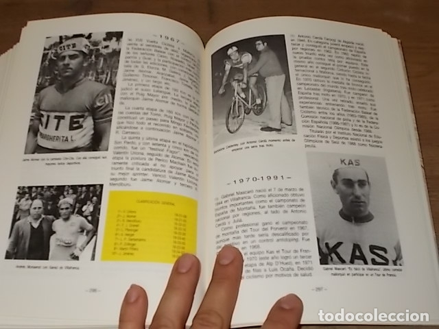 Coleccionismo deportivo: HISTORIA DEL CICLISMO EN MALLORCA.JESÚS GARCÍA MARÍN / GONZALO PAMPÍN.ED. MIRAMAR.1ª EDICIÓN 1991. - Foto 31 - 212807685
