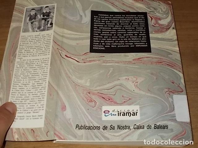 Coleccionismo deportivo: HISTORIA DEL CICLISMO EN MALLORCA.JESÚS GARCÍA MARÍN / GONZALO PAMPÍN.ED. MIRAMAR.1ª EDICIÓN 1991. - Foto 35 - 212807685