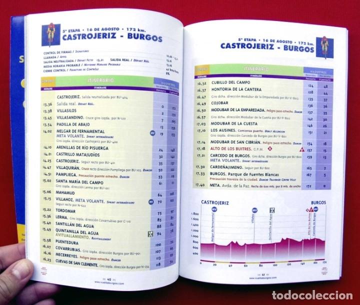 Coleccionismo deportivo: XXIV VUELTA A BURGOS. AÑO: 2002. BUEN ESTADO. CICLISMO. 90 PÁGINAS. - Foto 2 - 178134092