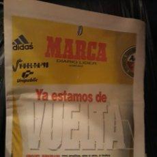 Coleccionismo deportivo: GUIA MARCA SUPLEMENTO DE CICLISMO VUELTA A ESPAÑA 98. Lote 179027826