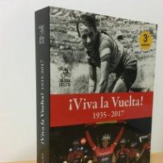 Coleccionismo deportivo: LIBRO DE CICLISMO - VIVA LA VUELTA A ESPAÑA (1935 - 2017). CULTURA CICLISTA, 3ª ED. 2018. Lote 180034247
