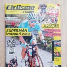 Coleccionismo deportivo: CICLISMO A FONDO Nº 410. ENERO 2019. SUPERMÁN LEVANTA EL VUELO. CALENDARIO 2019. VOTA POR LA BICI DE. Lote 183428715