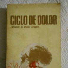 Coleccionismo deportivo: CICLO DE DOLOR. J. M. FUENTE / J. L. ALVAREZ ZARAGOZA. BIOGRAFIA DEL INOLVIDABLE CICLISTA JOSE MANUE. Lote 184290941