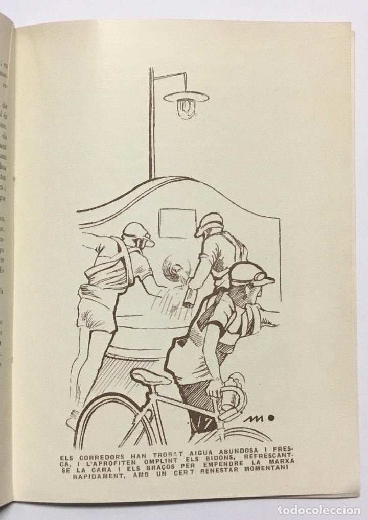 Coleccionismo deportivo: ELS GEGANTS DE LA RUTA. Abellà Masdeu, Pere. Barcelona, 1932. 39 pag. Ilustrado por Mestres. Fotos - Foto 3 - 186434630