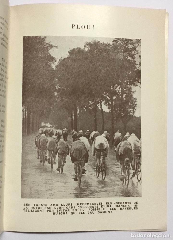 Coleccionismo deportivo: ELS GEGANTS DE LA RUTA. Abellà Masdeu, Pere. Barcelona, 1932. 39 pag. Ilustrado por Mestres. Fotos - Foto 4 - 186434630