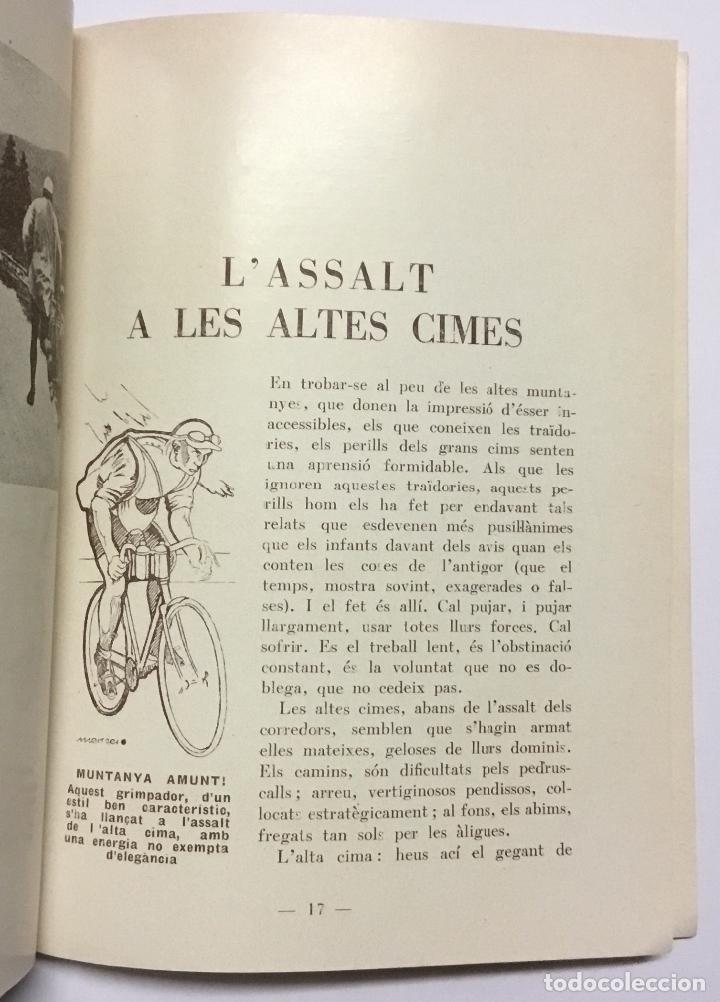 Coleccionismo deportivo: ELS GEGANTS DE LA RUTA. Abellà Masdeu, Pere. Barcelona, 1932. 39 pag. Ilustrado por Mestres. Fotos - Foto 5 - 186434630